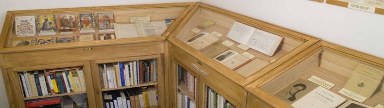 Biblioteca que se conserva en la Casa Museo de Machado2